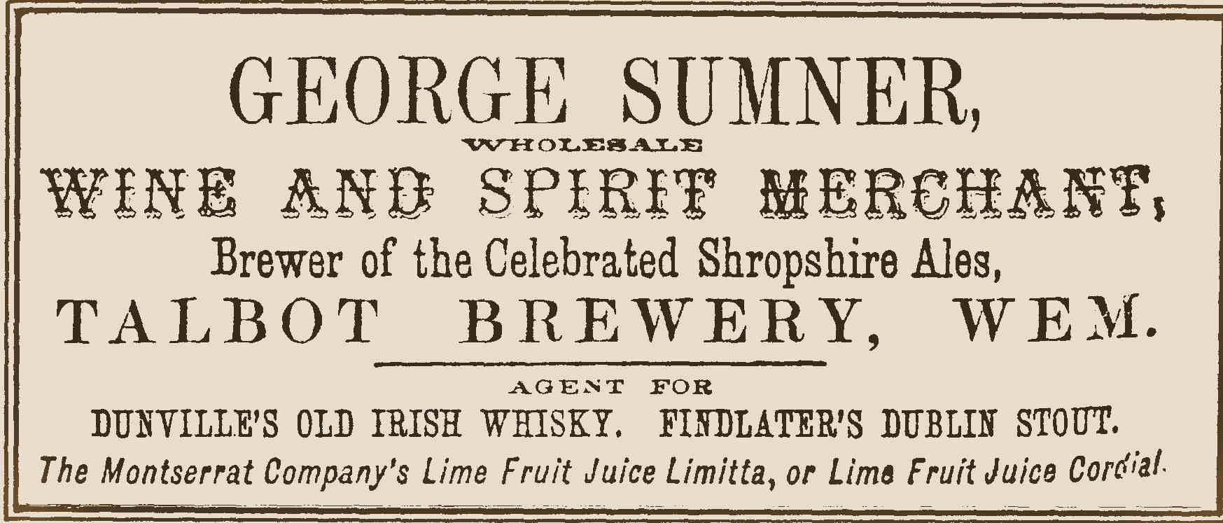 File:Wem Sumner jpg - Brewery History Society Wiki