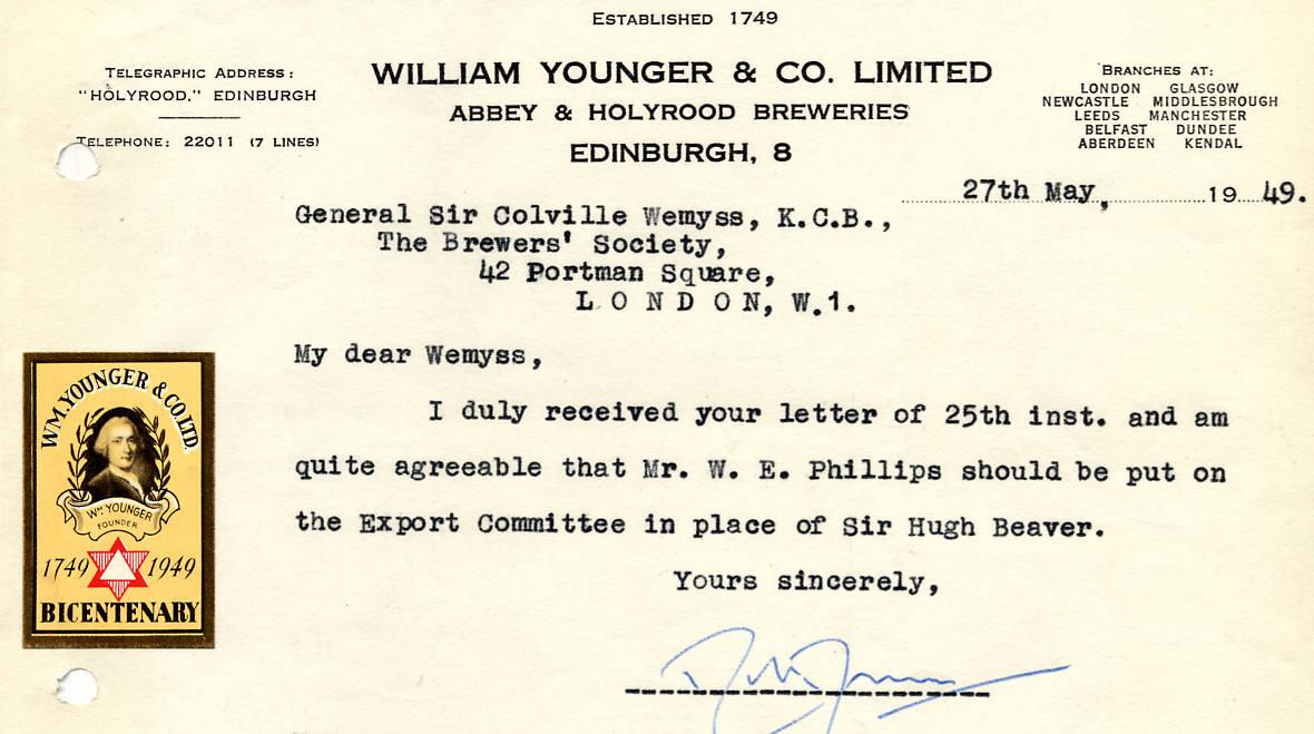 Fileyounger Wm 1949bg Brewery History Society Wiki