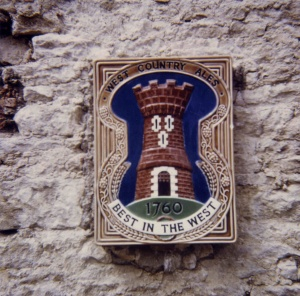 West Country Brewery plaque.jpg