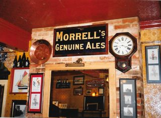 File:Morrell's Oxford The Brewery Gate 29 August 2002.jpg