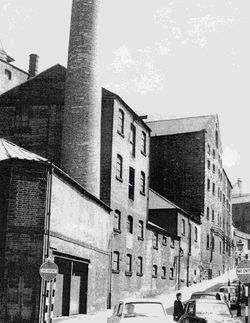 The brewery in 1960